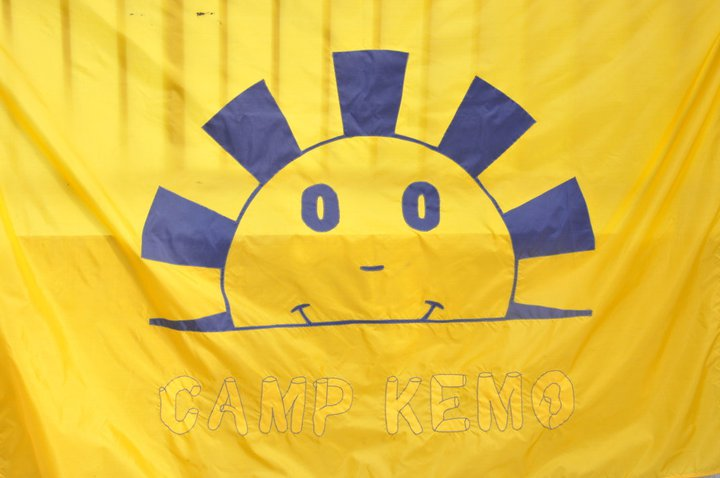 Camp Kemo banner