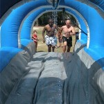 craig and mike on slip and slide 2010