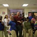 Mike inspires Burke students to get fit